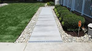 gravel patio drainage virginia beach french drain pictures