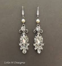 vintage wedding earrings chandeliers awesome vintage inspired bridal earrings wedding jewelry