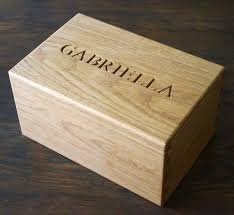 personalized wooden jewelry box personalised wooden box makemesomethingspecial