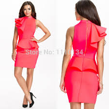 online shop brand design women stand collar ruffles business