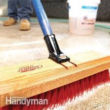 How To Clean A Concrete Patio by Renew Your Concrete Patio Family Handyman