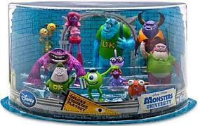 amazon disney pixar monsters university exclusive 10 piece
