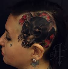 side of head tattoo some quality meat quality tattoos
