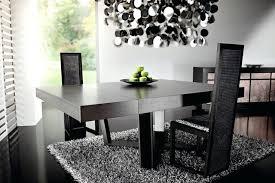 contemporary black dining room sets black modern dining room sets biddle me