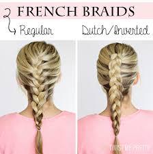 how to i french plait my own side hair diy 4 basic braids twist me pretty
