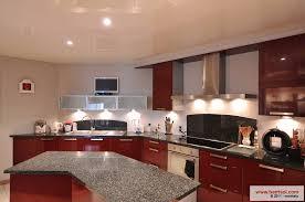 plafond de cuisine cuisine le plafond tendu barrisol dans votre cuisine
