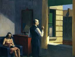 ma chambre a la forme d une cage edward hopper hotel by a railroad edward hopper wikipaintings