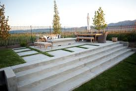 extraordinary concrete patio designs with fire pit for interior