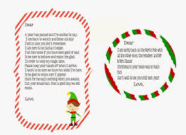 elf on the shelf return letter free printable little blue house