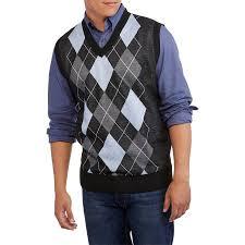 mens sweater vests ten s v neck argyle sweater vest walmart com
