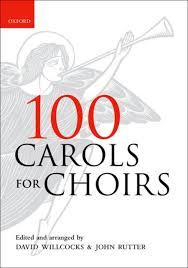 100 carols for choirs sheet by david willcocks sheet