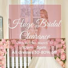 Clearance Wedding Dresses Huge Bridal Clearance Dresses Up To 80 Off Ivory And Lace Bridal