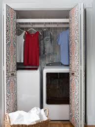 laundry room closet makeover hgtv