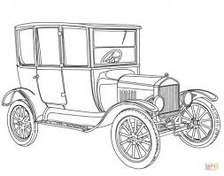 vintage car coloring page free printable coloring pages with