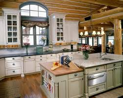 awesome log cabin kitchen ideas pertaining to home renovation