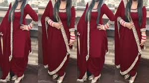 top boutique style patiala shahi salwar suit punjabi suits