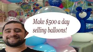 make 500 1000 a day with this balloon decorating idea balloon