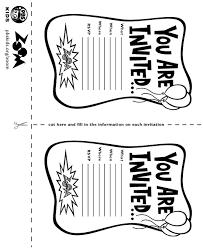 printable bowling birthday invitations for kids