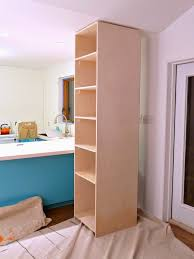 how to build your own kitchen cabinets how to build sturdy pantry shelves a food cabinet tall kitchen plans