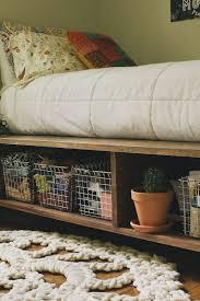Easy Platform Bed With Storage 10 Ways To Make Your Own Platform Bed With Storage Craft Coral