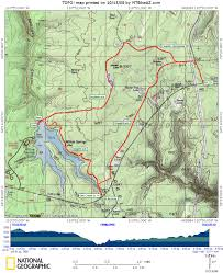Phoenix Mountain Preserve Map by Willow Springs Lake Mtbikeaz Com