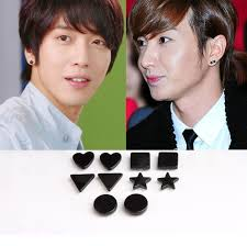 magnetic earrings for men aliexpress buy 1 pair men s black magnetic magnet earrings