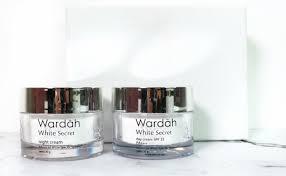 Wardah Krim Malam Dan Siang review kulit lebih cerah dan lembap dengan wardah white secret day