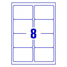 8 Labels Per Sheet Template Word Template For Avery J8565 Avery