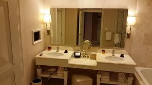 Bathroom With Double Sinks Picture Of Wynn Las Vegas Las Vegas - Bathrooms with double sinks