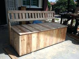 diy outdoor storage cabinet wood outdoor storage pallet outdoor bench with storage box pallets