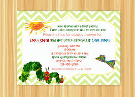 eric carle invitations very hungry caterpillar baby shower invitations baby shower diy