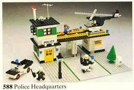 Lego Headquarters Lego 588 1 Police Headquarters Town U003e Classic Town U003e Police 1979