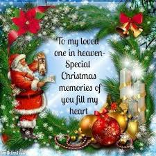 to my loved ones in heaven on christmas pictures photos and
