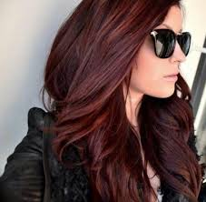 chocolate cherry hair color pictures hair pinterest