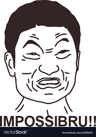 Angry Guy Meme - angry guy meme face for any design royalty free vector image