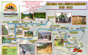 Machu Picchu Map Inka Jungle Tour To Machupicchu Inka Jungle Inca Jungle Trail