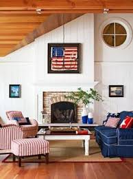 nautical living room with red white and blue decor it u0027s in the