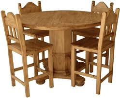 round pine dining table rustic pine round dining table bedroom and living room image