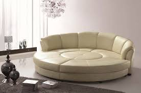 Leather Sofa Sectionals On Sale White Leather Circular Sectional Nurani Org
