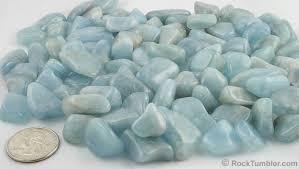 light blue semi precious stone tumbled stones 60 different polished stone varieties