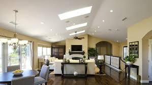 Vaulted Ceiling Open Floor Plans 1970s Era Home Gets 2012 Makeover The San Diego Union Tribune