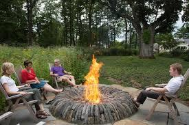 fire pit ideas for backyard christmas lights decoration