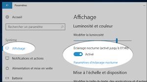 Laffichage De Lcran De Mon Pc Est Renvers Windows 10 Comment Se Protéger De La Lumière Bleue De L écran