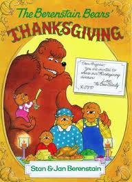 file the berenstain bears thanksgiving book cover 1997 jpg