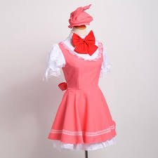 anime cardcaptor sakura cosplay costume pink kinomoto sakura dress