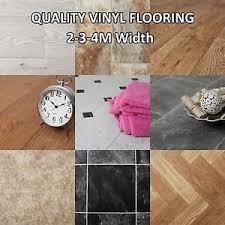 Brand New Quality Non Slip Vinyl Flooring Lino Kitchen Bathroom - Cheap bathroom vinyl flooring 2