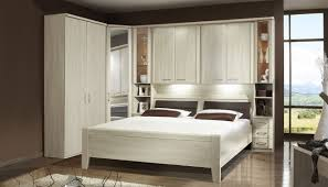 Bedroom Wall Storage Bedroom Furniture Wooden Overbed Unit Hanging Rack Over Bed