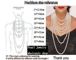 pearl size necklace images Wholesale pearl jewelry 60 inches long aa 5 11mm white color jpg
