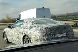 2018 bmw 8 series spotted on the autobahn