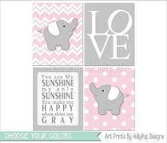Pink And Gray Nursery Decor Pink Gray Nursery Baby Nursery Decor Baby